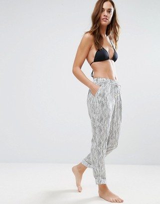 Seafolly Space Dye Effect Beach Pants $124 thestylecure.com