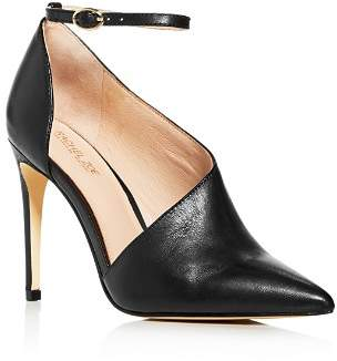 Rachel Zoe Women's Skylar Ankle-Strap Pointed-Toe Pumps