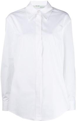 Off-White logo printed shirt