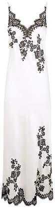 Carine Gilson Silk Floral Lace Nightdress