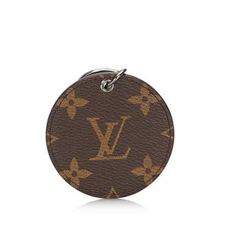 Louis Vuitton Monogram Brown Cloth Bag charms