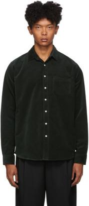 Schnaydermans Green Corduroy Shirt