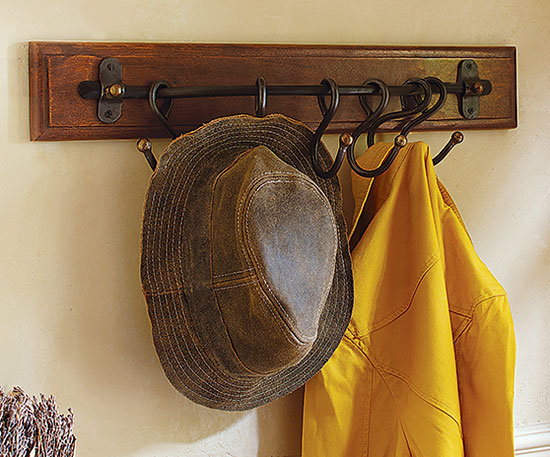 Swing-Shift Wall Rack