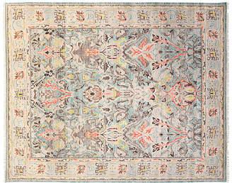 F.J. Kashanian 8'x10' Sari Wool Elisa Rug - Aqua