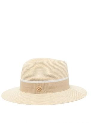Maison Michel Henrietta Straw Hat - Womens - Beige