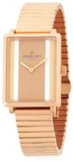 Shirley Fromer Link Bracelet Watch