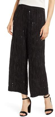 Velvet by Graham & Spencer Raindrop Sequin Pants
