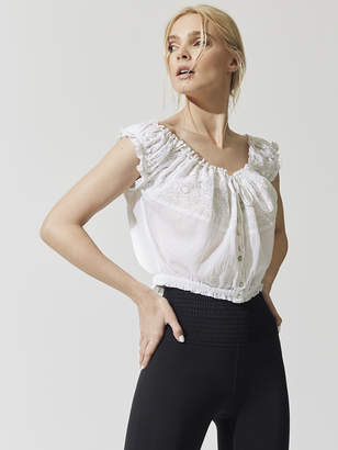 Free People Movement EYELET YOU A LOT TOP