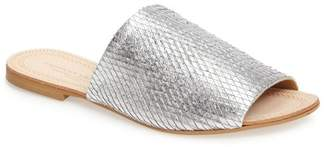 Kristin Cavallari by Chinese Laundry Bahiti Metallic Slide Sandal