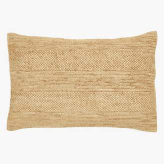 ABC Home Sil'ouette Rice Raffia Pillow Natural