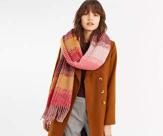 Oasis STRIPE CHECK SCARF