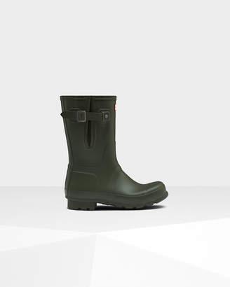 Hunter Men's Original Side Adjustable Short Rain Boots