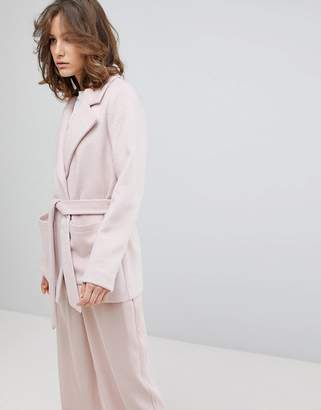 Selected Cropped Trench Coat