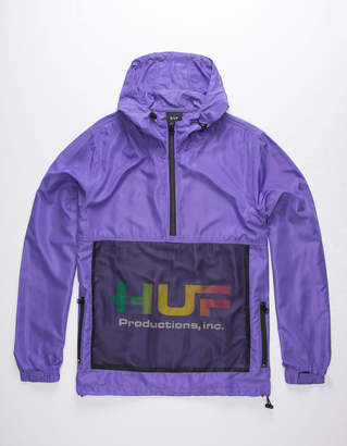 HUF Productions Inc Ultra Violet Mens Anorak Jacket