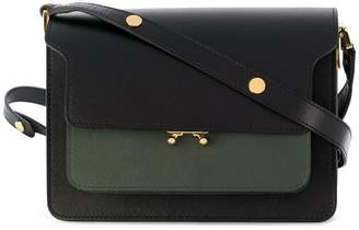 Marni foldover flap shoulder bag