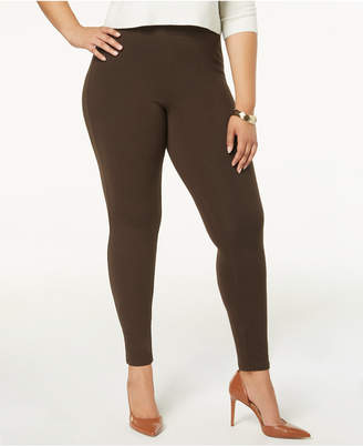 Hue Plus Size Women's Cotton Leggings, Created for Macy's