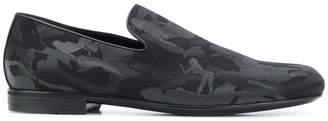Jimmy Choo Sloane camouflage print slippers