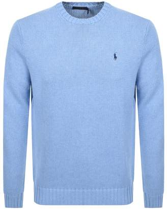 Knit Jumper Blue