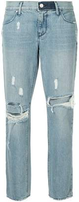 RtA distressed tapered jeans