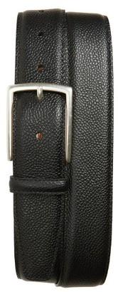 Men's Allen Edmonds Decatur Avenue Pebbled Leather Belt $105 thestylecure.com