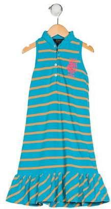 Polo Ralph Lauren Girls' Striped Dress