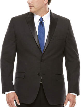 COLLECTION Collection by Michael Strahan Neat Check Formal Jacket - Big & Tall