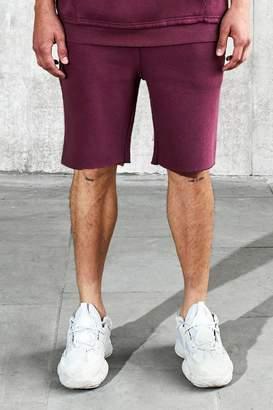 boohoo Loose Fit Heavyweight Wash Shorts