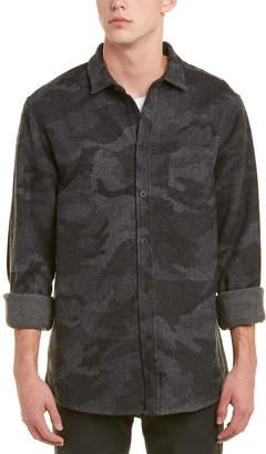 IRO Priam Wool-Blend Woven Shirt
