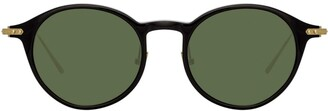 Linda Farrow oval sunglasses