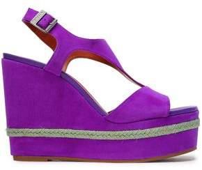 Purple Platform Wedge Sandals For Women ShopStyle Australia