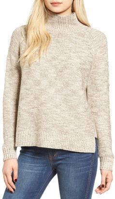Madewell Melange Turtleneck Sweater $85 thestylecure.com
