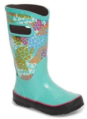 Bogs Skipper Footprints Rubber Rain Boot