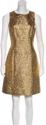 Chanel Wool Dress gold Wool Dress