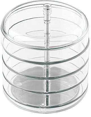 InterDesign 4-Tier Swing Jewellery Box, Clear