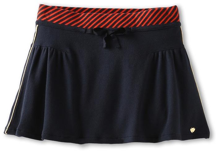 Juicy Couture Kent Stripe Skirt (Toddler/Little Kids/Big Kids) (Seychelles Kent) - Apparel