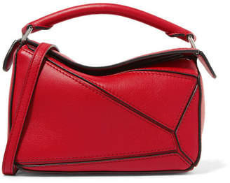 Loewe Puzzle Mini Textured-leather Shoulder Bag - one size
