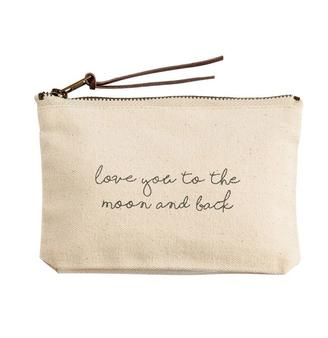 Mud Pie Moon Pouch $10 thestylecure.com