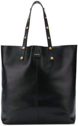 Versace studded tote bag
