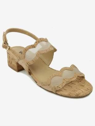 47631b08be VANELi Hesper In Natural Cork Sandal in Beige Size 10W
