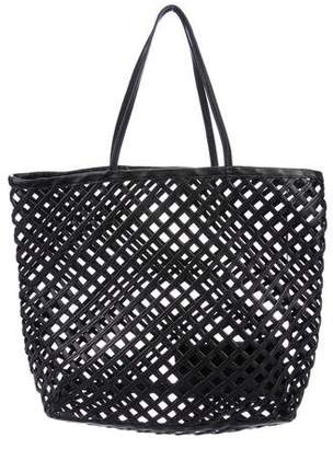 Alaia Caged Leather Tote