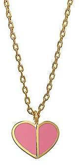 Kate Spade Enamel Heart Mini Pendant Necklace