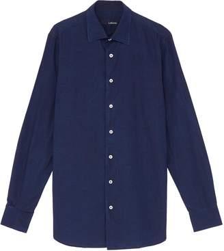 Lardini Cotton chambray shirt