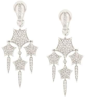 Stephen Webster 18kt white gold and diamond chandelier earrings