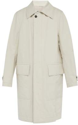 Ann Demeulemeester Oran Oversized Cotton Blend Trench Coat - Mens - White