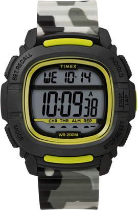 Timex R) Boost Shock Resistant Digital Silicone Strap Watch, 47mm