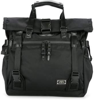 As2ov double buckle tote