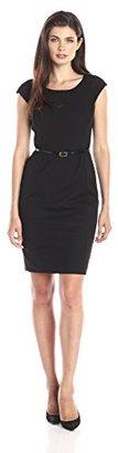 Jones New York Women's Brooke Cap-Sleeve Dress $119 thestylecure.com