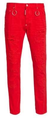 DSQUARED2 Ripped Skater Jeans
