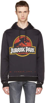 Dolce & Gabbana Black Jurassic Park Hoodie