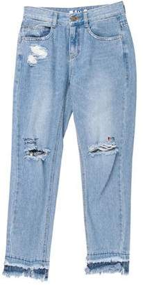 Sjyp Mid-Rise Skinny Jeans